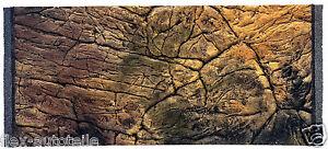 3D Aquarium Terrarium Decor Back Panel Struckturrückwand Thin Slate Rocks