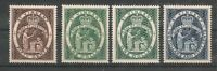 St Vincent 1955 QEII High Values to $2.50 inc SG#199a MNH
