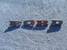 1967 1968 1969 Ford F100 F250 F350 Pickup Truck Original HOOD EMBLEM LETTERS