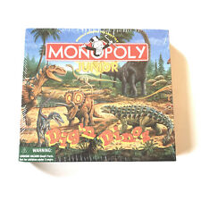 Monopoly Jr. Game Dig 'n Dinos by Hasbro & Parker Brothers, New in Shrink Wrap!