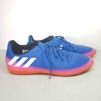 Mens Adidas Messi Indoor Futsal Football Soccer Shoes Blue US 6 UK 5.5