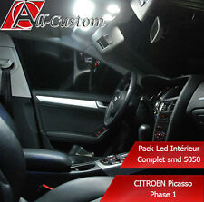 Pack led intérieur Citroen C4 Picasso Phase 1  15 ampoules