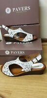 PAVERS WOMENS WHITE SHOES SIZE UK 4 / EU 37 BRAND NEW WITH BOX