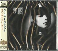 JANET JACKSON-RHYTHM NATION 1814 -JAPAN SHM-CD D50