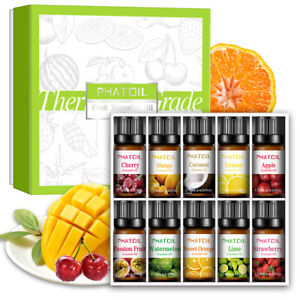 PHATOIL Fruit Aromatherapy Essential Oils Pure Organic Essential Oil Diffuser AU