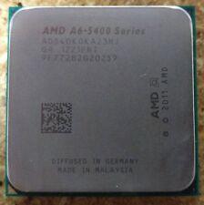 AMD a6-5400k Trinity Dual-Core 3.6 GHz SOCKET fm2 65w ad 540 KOKA 23hj