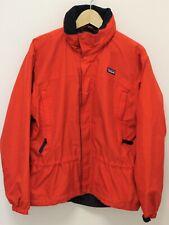 PATAGONIA Men's Full Zip Jacket W/ Hidden Hood - Red - Size Small