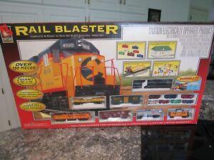 Life-Like Trains Rail Blaster set B&O 4810 HO Electric Vintage Toy NIB SEALED