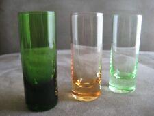Three (3) Antique Liqueur Cordial Glasses
