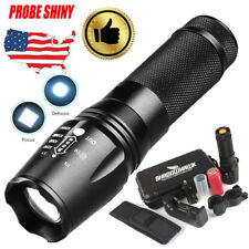 6000lm SHADOWHAWK X800 Tactical Flashlight LED Zoom Military Torch G700