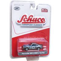 SCHUCO 8800 EUROPEAN CLASSICS PORSCHE 911 930 1/64 MARTINI RACING #8 Chase