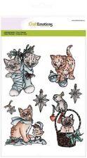Craft EMOZIONI Timbro Clear Set-Natale Animali Domestici 2