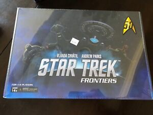 Star Trek Frontiers Board Game | Mage Knight | Vlaada Chvátil | WizKids | NIS