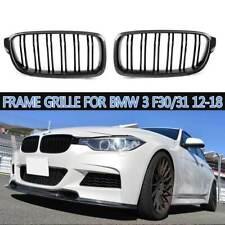 ☆Carbon Fiber ☆ Front Bumper Kidney Grill Grille For BMW 3 F30 31 2012-2018
