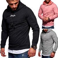 JACK & JONES Kapuzenpullover Hoodie Pullover Sweatshirt Schwarz/Rosa/Grau NEU