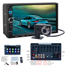 7'' Capacitive Touch Screen In-Dash Car GPS Bluetooth WIFI Stereo MP5 Player Kit