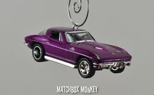 Classic 1966 Corvette Custom Christmas Ornament 1/64th Chevy Adorno Vette '66
