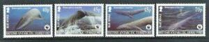 BAT 2003, Endangered Species - Blue Whale sg361/4 MNH