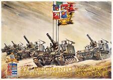 C1795) MILANO 27 REGGIMENTO ARTIGLIERIA PESANTE CAMPALE SEMOVENTE VIAGGIATA.
