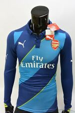 GUNNERS 2014-2015 Arsenal Puma Player Issue Third Cup Shirt SIZE S (adults)