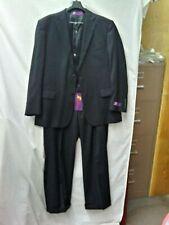 RR. Orsini Men's Black 3 Pc. suit NWT Size 44R . 38X28 pants. MSRP $299.99