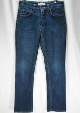 ACNE STUDIOS Jeans Blue Denim Straight Jeans Stretch Women's Size 29 34