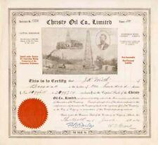 Christy Oil Co, Ltd