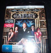 The Great Gatsby (Leonardo Dicaprio) (Aust Region B) 4K ULTRA HD + BLURAY – New