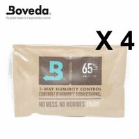 4 x Boveda 65% RH 2-way Humidity Control - Large 60 gram Size FREE DELIVERY