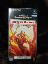 Advanced Dungeons And Dragons Japanese Capcom Game: Eye of the Beholder