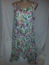 Plus Size Scoop Neck Asymmetric Dresses for Women