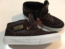 VANS Brown Suede Half Cab Men's Shoe Size 6.5