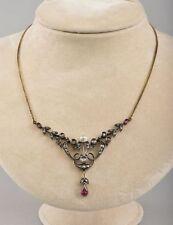 Yellow Gold Necklace/Choker Edwardian Fine Jewellery