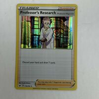 Professor's Research Holo Rare Pokemon Card Sword and Shield Base Set 178/202 NM