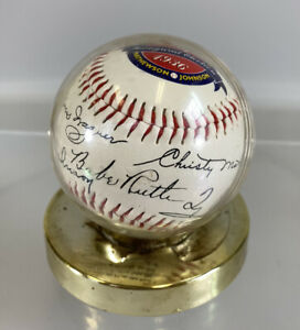 First 5 Inaugural Election 1936 Hall of Fame Ruth Wagner Cobb Baseball 1996