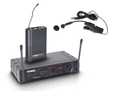 LD Systems ECO16 UHF a Clip in ottone Wireless Sistema Microfono/SAX. MIC. NUOVO
