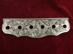 Lowrider Hydraulic 6 Hole Chrome Engraved Switch Plate