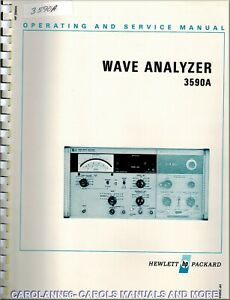 HP Manual 3590A WAVE ANALYZER
