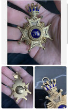 More details for victoria (1880) hallmarked silver rose croix 31 degree jewel