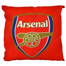 Arsenal FC Stemma Quadrato Cuscino Cuscino Camera Da Letto Seduta Sofa Sedia NUOVO REGALO NATALE