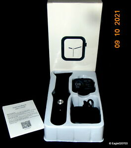 Sports Smart Watch, black, 12 functions, Android/1os requires 5.0, 10S9 NIB