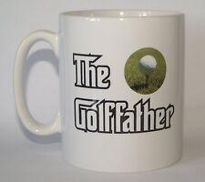 THE GOLF FATHER Golf Fan/Golfer Funny Novelty Printed Mug - Ideal Gift/Present