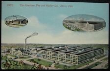 Akron Ohio The Firestone Tire & Rubber Co. Postcard - The Acmegraph Co., Chicago
