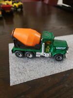 """1981 Matchbox Peterbilt Cement Truck (Concrete 1:80 Green """"Big Pete"""")"""
