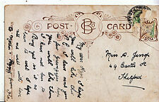 Genealogy Postcard - Family History - Jessop - Castle Street - Thetford    U3170