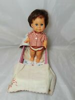 "Vintage Ratti Baby Doll Made in Italy  9"" Tall"
