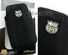 FUNDA para SmartPhone  F.C.Barcelona- Producto Oficial Negra