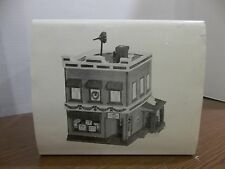 Department Dept 56 christmas snow village Al's tv shop lighted house building