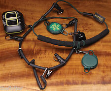 DR SLICK LANYARD NECKLACE 2 zingers and fly box fishing