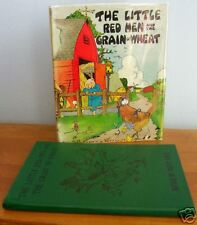The LITTLE RED HEN, Watty Piper with Eulalie Illustrations, 1937 in DJ